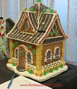 Silent auction item ideas gingerbread house