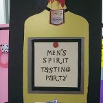 Auction sign-up parties for men: Spirit Tasting Party