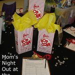 Signup party board for moms