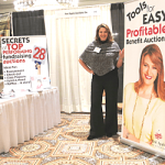 Benefit auction trade show booth help for school auctions