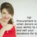 Benefit Auctioneer DC Sherry Truhlar Red Apple Auctions Procurement Tip