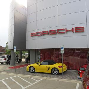 Porsche Dealership Auction Venue