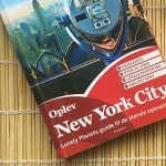 NYC Tourism Guide on Bamboo Mat