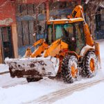 Auction item donation idea:  A season of snow plowing