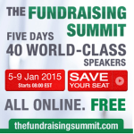 The (free, online) Fundraising Summit is this week!  Don't miss it.