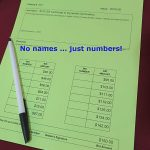 Part 3: The raging debate on silent auction bid numbers versus names