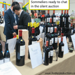Wine silent auction idea: Sommeliers drive bigger bids