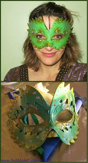 Benefit auction theme ideas, meet me in rio, brazil masks