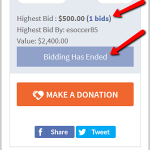 What's wrong with online silent auctions this spring?