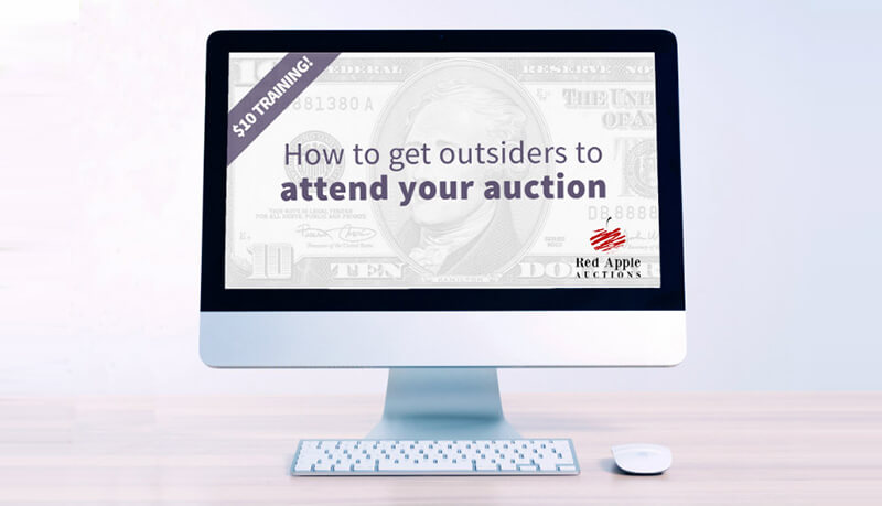 $10 Training - How To Get Outsiders to Attend Your Auction
