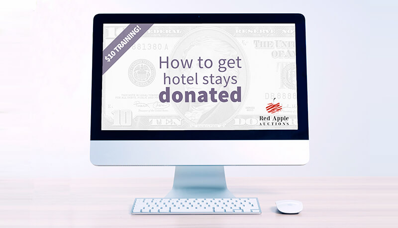 $10 Training - How to Get Hotel Stays Donated