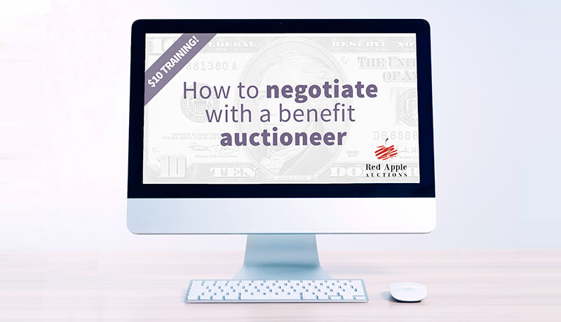 $10 Training - How to Negotiate with a Benefit Auctioneer