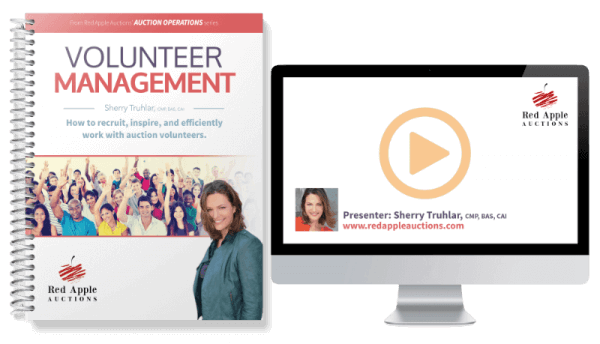 Auction Volunteer Management by Sherry Truhlar