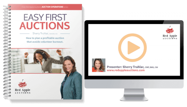 Easy First Auctions by Sherry Truhlar