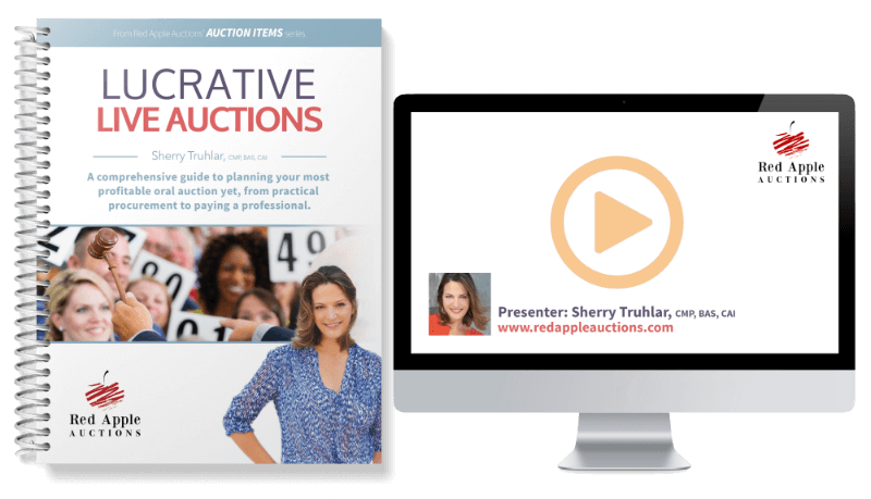 Lucrative Live Auctions by Sherry Truhlar