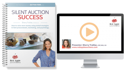 Silent Auction Success by Sherry Truhlar