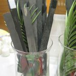 Reusable auction bid paddle sticks: Good for storage and sponsors