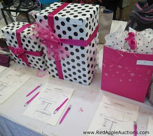 new idea for silent auctions. Surprise Box or Mystery Box in silent auction