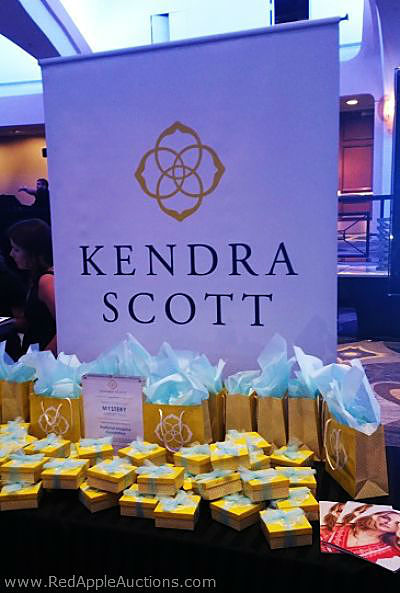 Kendra Scott display at National Hospice Foundation