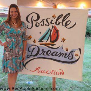 woman auctioneer Sherry Truhlar