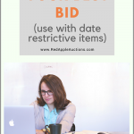 "When to use ""Submit your best bid"" for item donations that can't be sold at the fundraising auction"