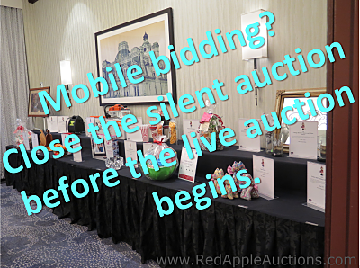 silent auction vs live auction