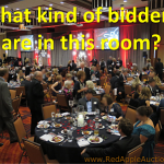The archetypes of live auction bidders