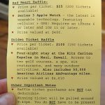 Raffle Cheat Sheet: A tool that helps volunteers sell more raffle tickets
