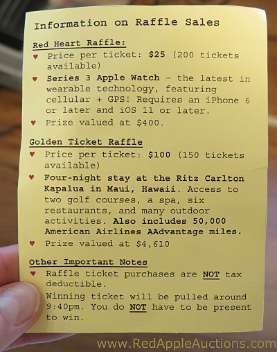 Raffle Cheat Sheet A Tool That Helps Volunteers Sell More Raffle