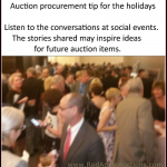 ideas for auction procurement