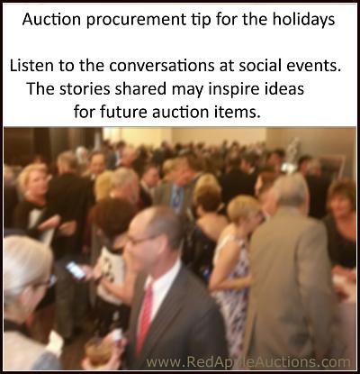 tip for auction procurement