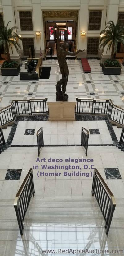 fundraising auction venue Homer building landing site visit