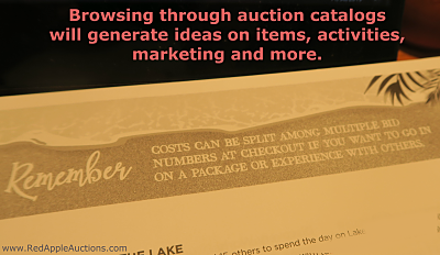 idea from fundraising auction catalog carnival splitting costs at checkout