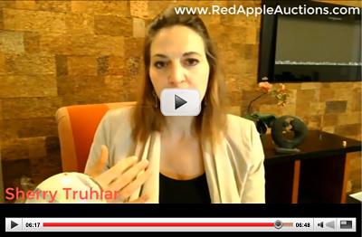 virtual auction event sherry truhlar discusses plans